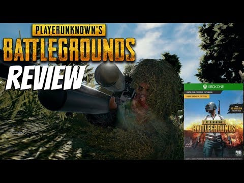 Pubg Xbox One Review Playerunknown S Battlegrounds Youtube