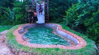 Build Brick Swimming Pool For Summer Full movie