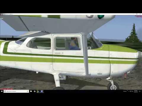 53CL Very bumpy runway  FSXSE Flight Simulator