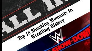 Episode 7 - Top 10 Most Shocking Moments/TripleMania XXVI/ALL IN Review (Podcast Wrestling Society)