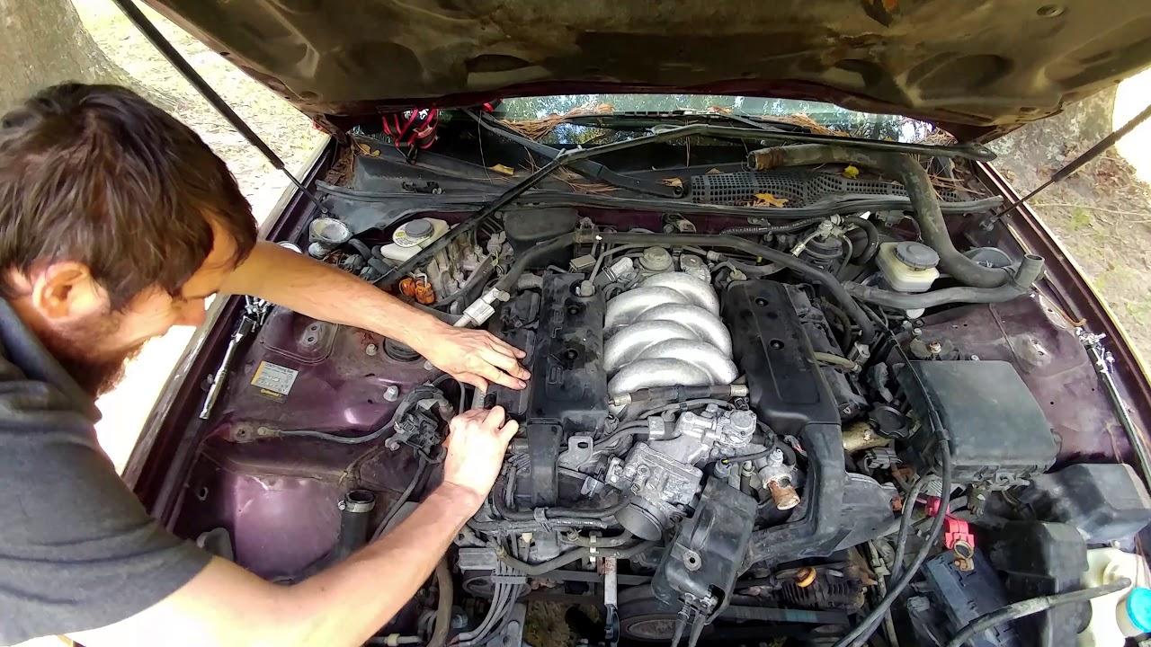 diy: how to remove acura legend spark plugs