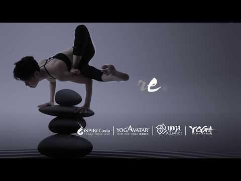 Demo Maksikanagasana (Dragonfly Pose) in 30 seconds: Yogavatar® Yoga Teacher Training in Malaysia