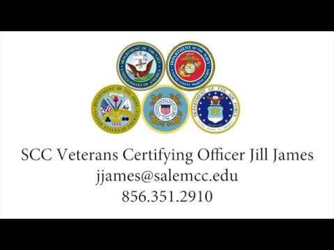Salem Community College salutes our veterans!
