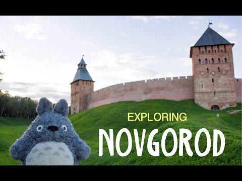 Totoro in Russia | Kremlin of Novgorod