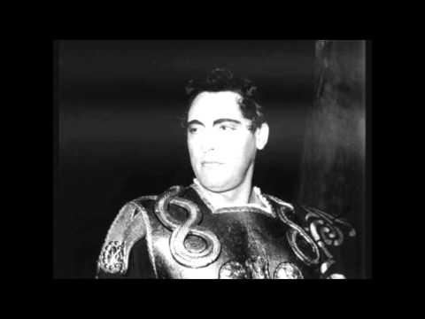 Mario Del Monaco Svanir le voci Live 1955 Audio HQ
