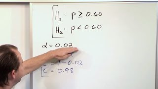 Null and Alternate Hypothesis - Statistical Hypothesis Testing - Statistics Course thumbnail