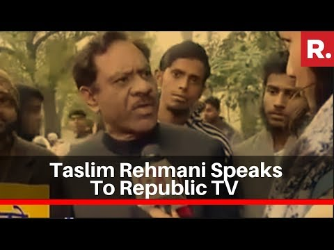 Taslim Rehmani Speaks To Republic TV Over Alleged SDPI-PFI Role In Anti-CAA Violence