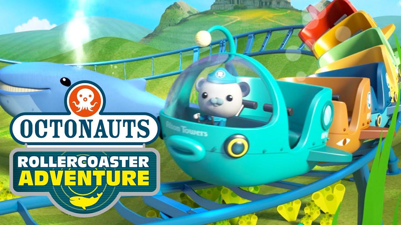 Octonauts Alton Towers Rollercoaster Adventure Youtube