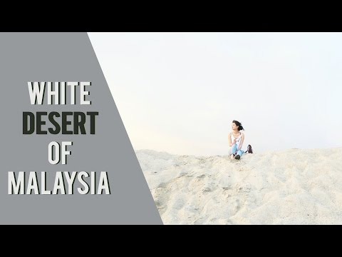 WHITE DESERT OF MALAYSIA - PANTAI KLEBANG @ MELAKA