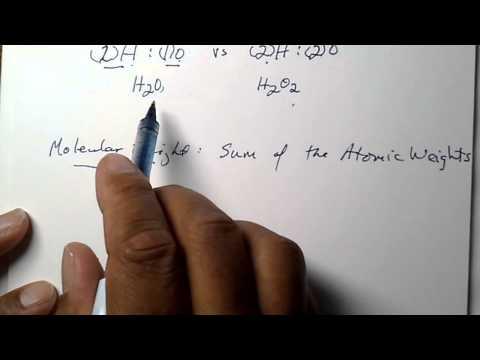 Molecular Formula and Avogadro