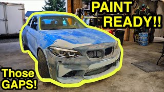 Getting My CHEAP Salvage Auction BMW M2 all Prepped Out For PAINT! Part 9