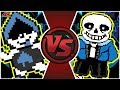 LANCER vs SANS! (Undertale vs Deltarune Animation) | Cartoon Fight Club Episode 289