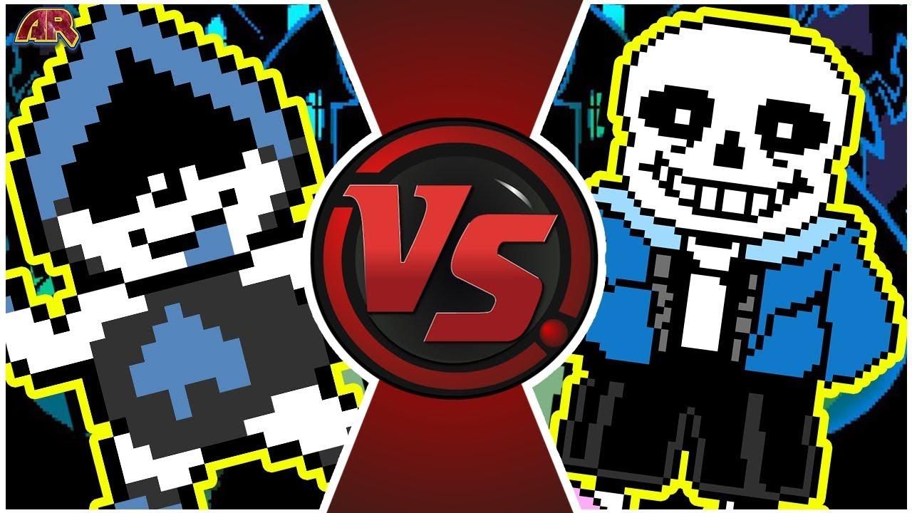 LANCER vs SANS! (Undertale vs Deltarune Animation) | Cartoon Fight