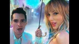 """Taylor Swift - """" ME! """" (ft. Brendon Urie of Panic! at the Disco)"""