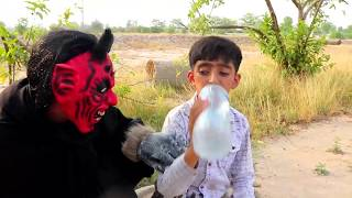 Shaitan aur Kid Part 02    Train vs Shaitan    Moral Kahani