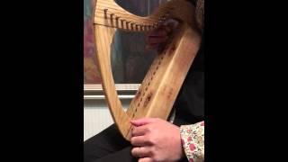 ユリノキ製、金属弦ハープ(16弦、op.30) 作:寺本圭佑 (HD)