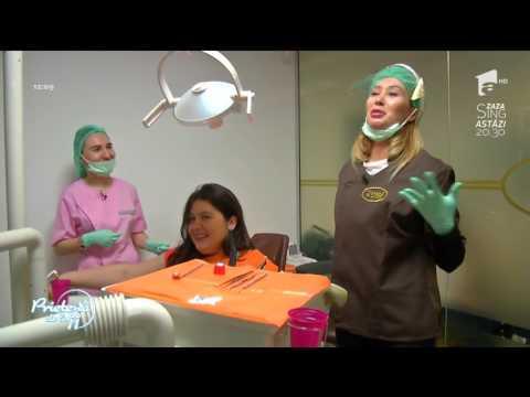 Meserie pentru o zi! Xonia a intrat în pielea unui medic stomatolog