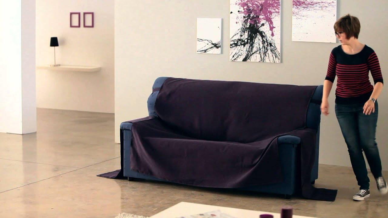 Cubre sof de brazos cosidos youtube - Telas para tapizar sofas ...