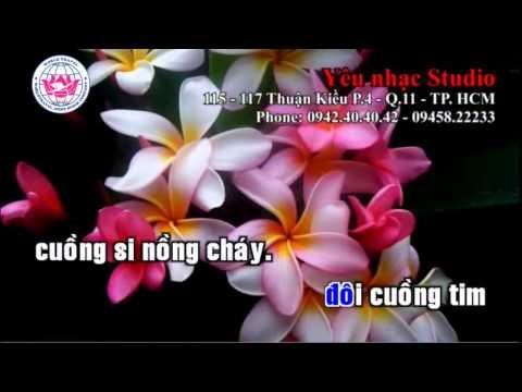 Khuc Tinh Nong - Karaoke HD