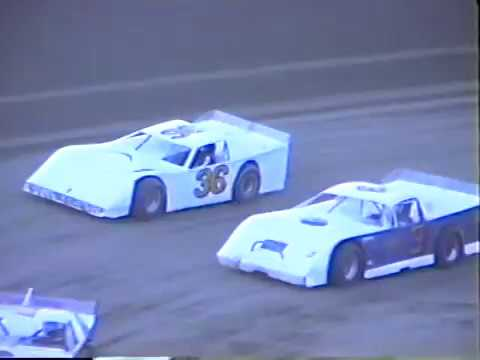 1991 Beckley Motorsports Park Late Model Heat Race - Motor Speedway