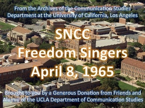 SNCC Freedom Singers performing at UCLA 4/8/1965