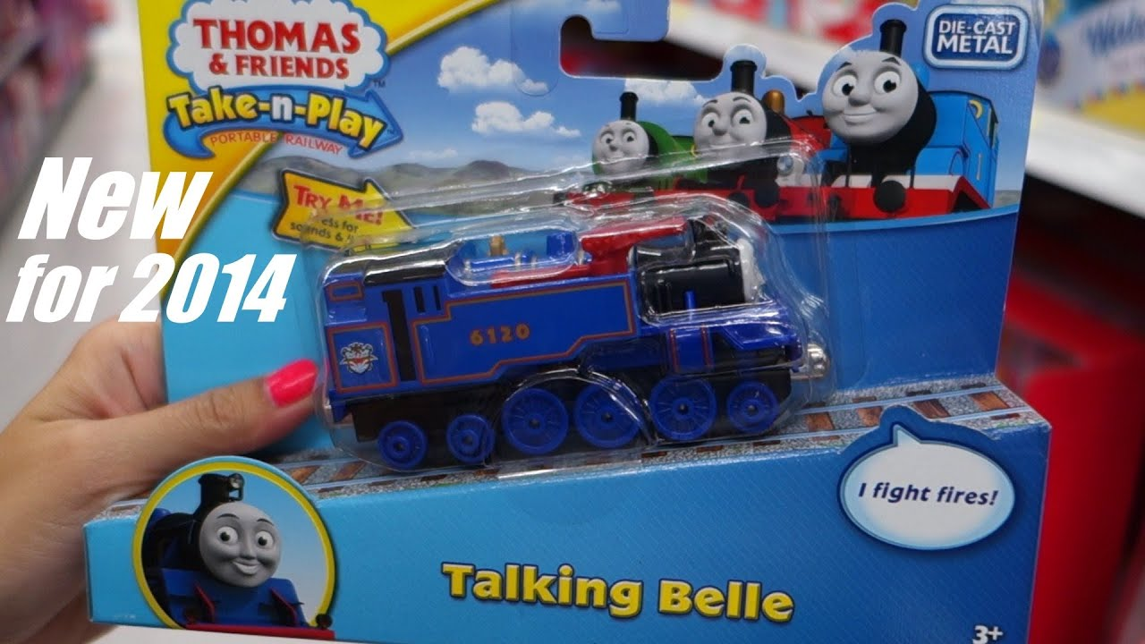 thomas and friends take n play belle