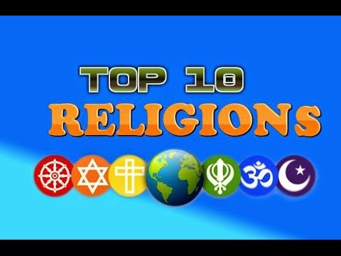 Top Religion In The World MuhammadAliChudry YouTube - Top religions 2016
