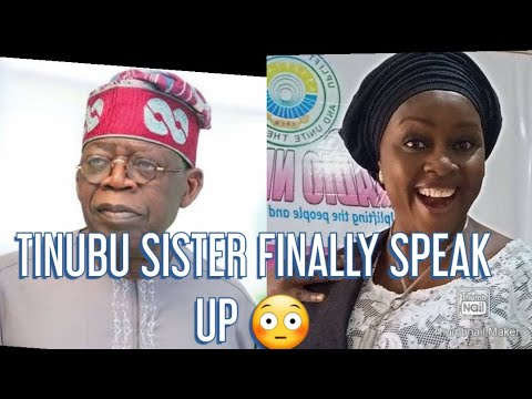 Download TINUBU SISTER FINALLY SPEAK UP 😳