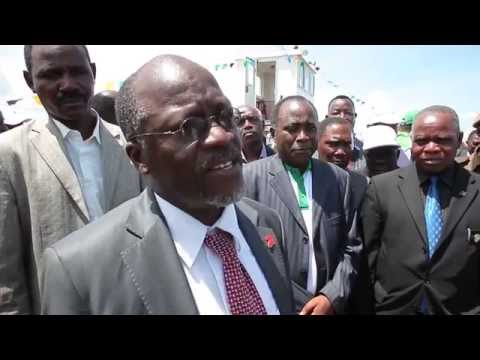 John Magufuli interview on Tanzania infrastructure