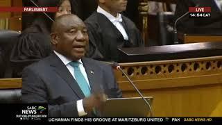 President Ramaphosa apologises to Malema and his wife