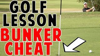 Golf Bunker Cheat To Get Out Every Time!!