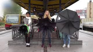 Up brella! Ветрозащитный зонт Up brella