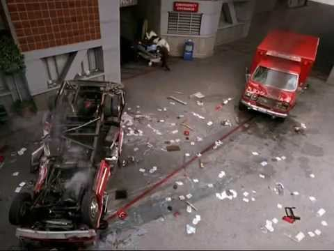 Angela Meryl Stunt driving reel