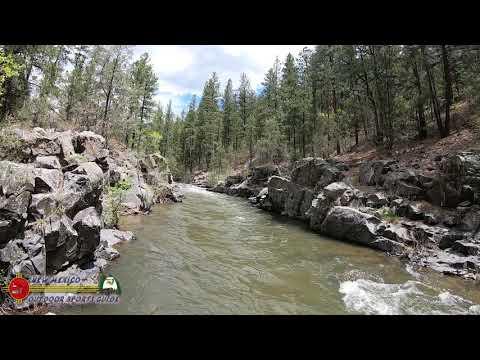 Pecos River Trout Fly Fishing Upper Dalton Public Fishing Access