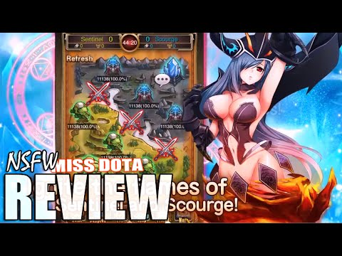 miss dota android game review youtube