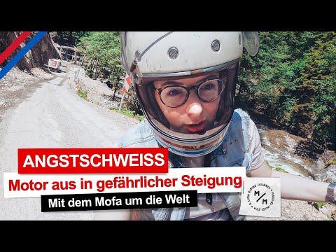 Maggie übertreibt's | Mofa hängt in gefährlicher Steigung fest