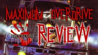 Maximum Overdrive - Horror Review