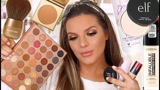 NEW DRUGSTORE FAVORITES AND TRYING MORE AFFORDABLE MAKEUP!  | Casey Holmes