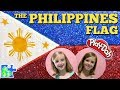 Play-Doh FLAG of the PHILIPPINES ! || Flags of the World || Bandera de las Filipinas