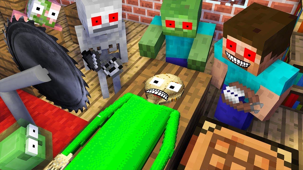 Monster School : KILL BALDI CHALLENGE - Minecraft Animation