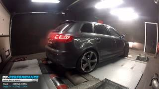 Reprogrammation Moteur Audi RS3 2.5 TFSI 340hp @ 412hp par BR-Performance