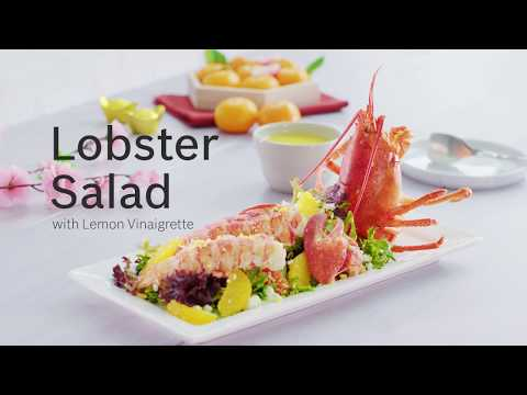 Lobster Salad With Lemon Vinaigrette Recipe - Cooking With Bosch