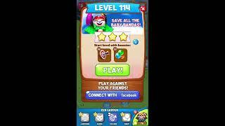 Panda Pop: Level 114 *NO BOOSTERS*