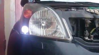 Замена ламп в габаритах ПРАДО 120 на диоды