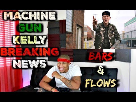 Machine Gun Kelly - Breaking News Official Video Reaction