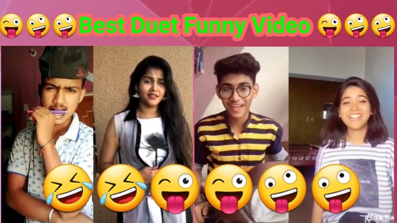 Duet Tiktok Funny Video. Saloni Singh tik Tok video. New video of Saloni Singh and other stars.