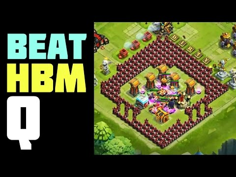 Castle Clash: Here Be Monsters Challenge Q