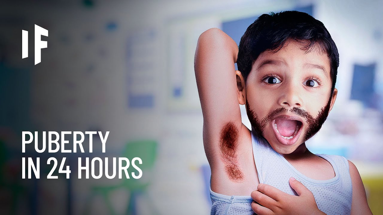 What If You Went Through Puberty in 24 Hours?