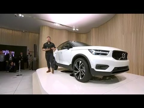 2018 Volvo XC40 World Premiere in Milan