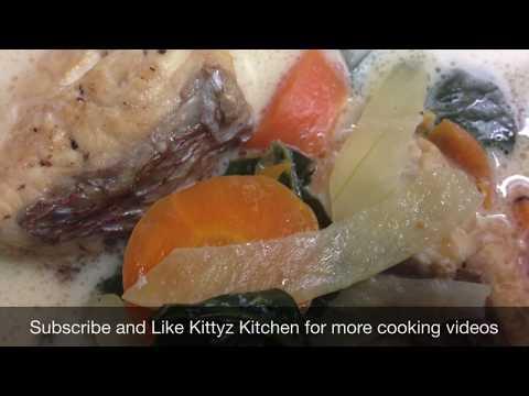 Fish In Lolo Or Coconut Milk Recipe